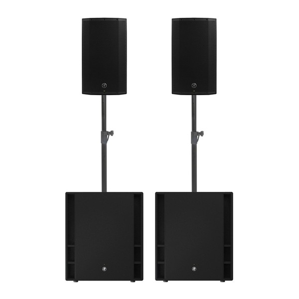 Mackie Thump 12A and Thump 18S Speaker Bundle