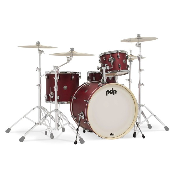 PDP Spectrum Series 22'' 4pc Shell Pack, Red
