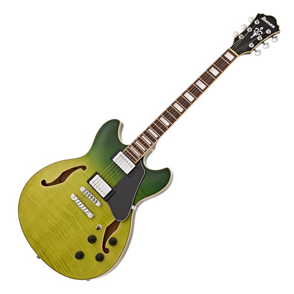 Ibanez AS73FM Artcore, Green Valley Gradation main
