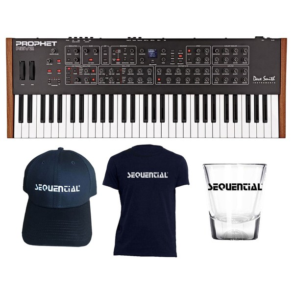 Dave Smith Instruments Prophet Rev2 16 Voice with Free Merch