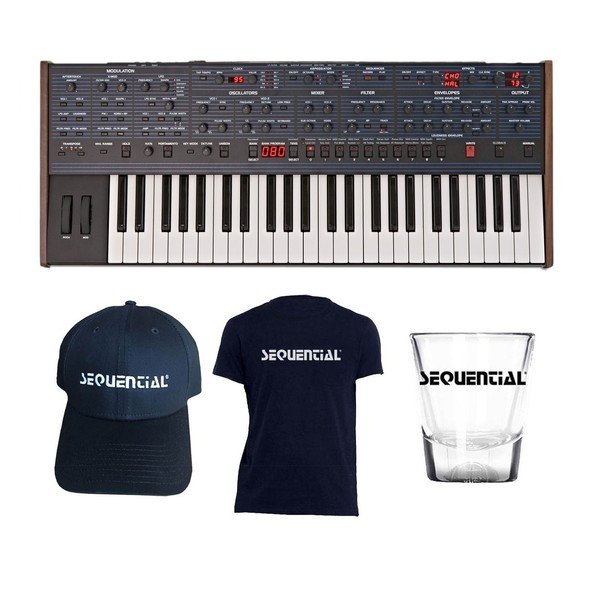 Dave Smith Instruments OB-6 with Free Merch - Full Bundle