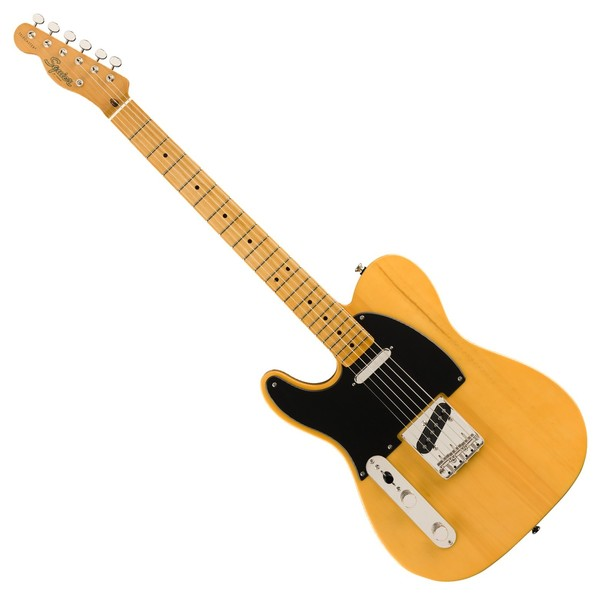 Squier Classic Vibe '50s Telecaster MN LH, Butterscotch Blonde - Front View