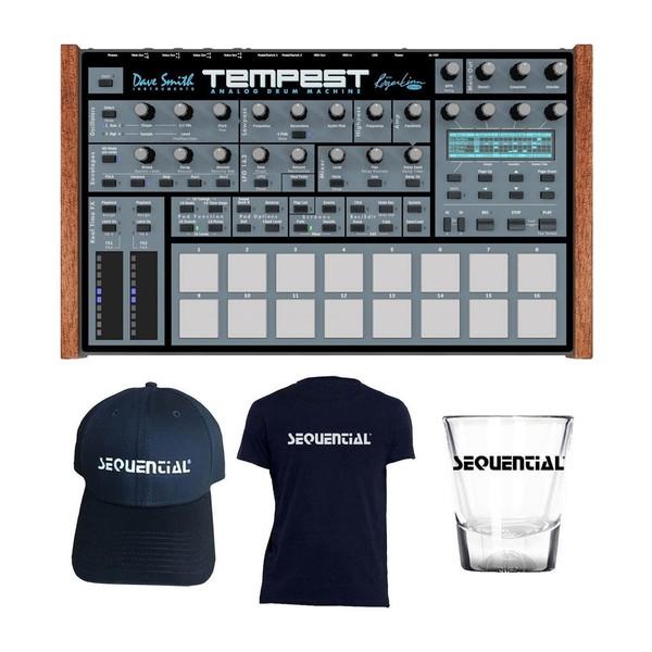 Dave Smith Instruments Tempest Analog Drum Machine - Full Bundle