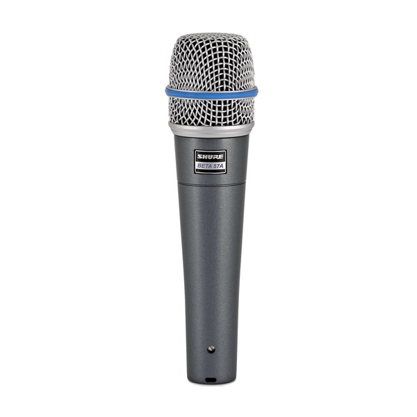 Shure Beta 57A Dynamic Microphone - Front