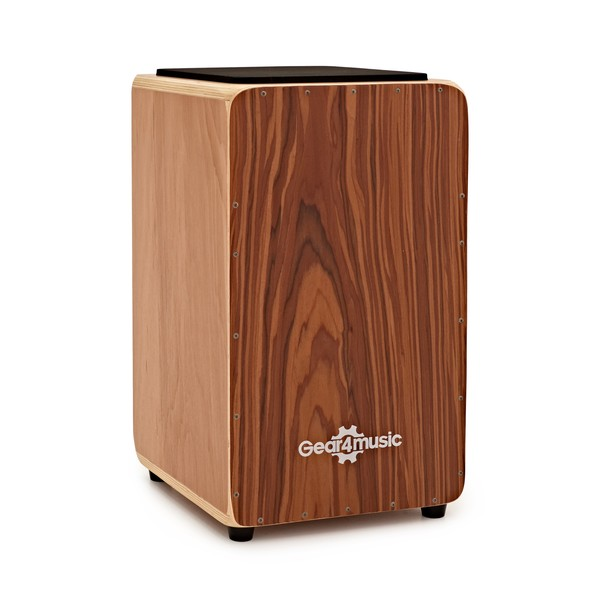Cajon by Gear4music, Sapele