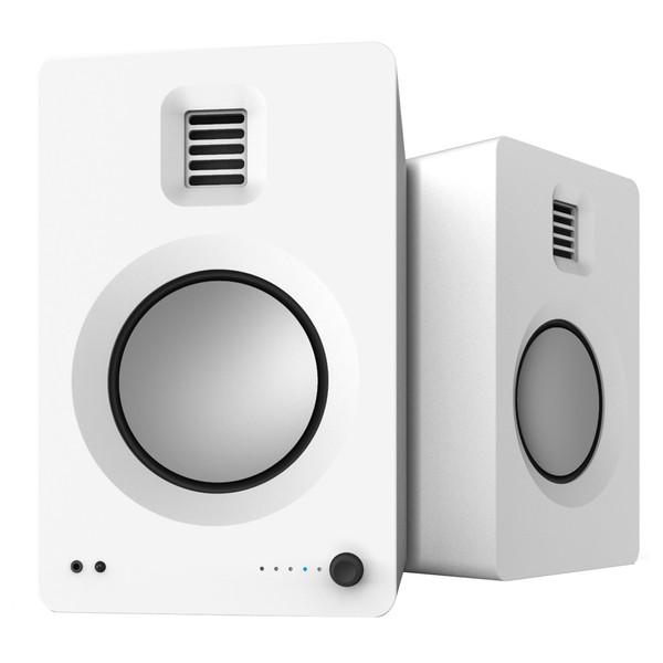 Kanto TUK Powered Bookshelf Speakers - Matte White -