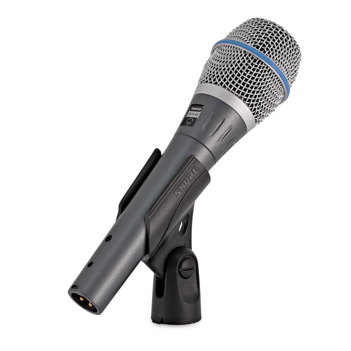 Shure Beta 57A Dynamic Instrument Mic with Low Mic Stand and