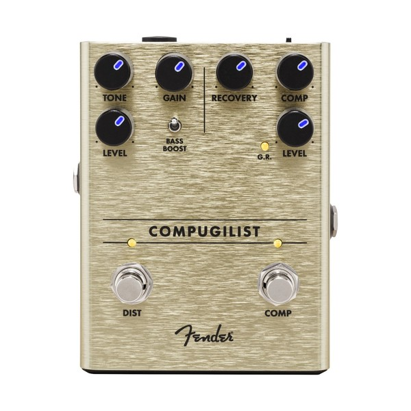 Fender Compugilist Compressor/Distortion - Front View
