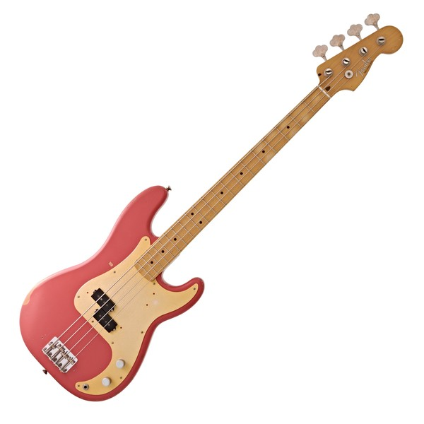 Fender Road Worn 50s Precision Bass, Fiesta Red
