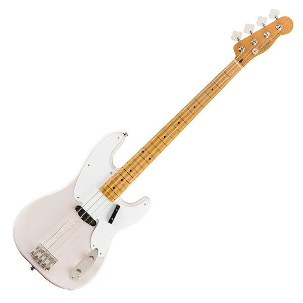 Squier Classic Vibe '50s Precision Bass MN, White Blonde - Front