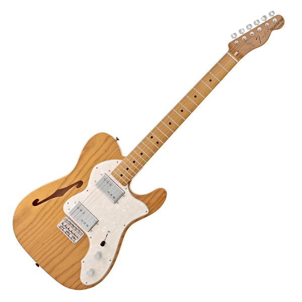 Fender Vintera 70s Telecaster Thinline, Aged Natural
