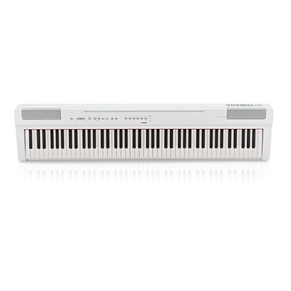 Yamaha P125 Digital Piano, White main