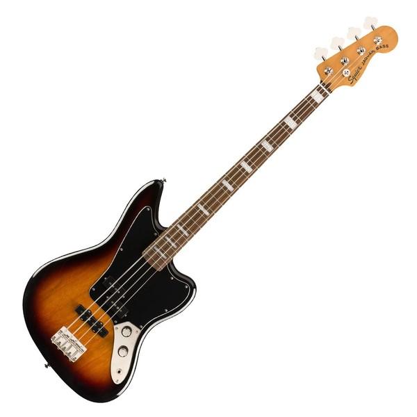 Squier Classic Vibe '70s Jaguar Bass LRL, 3-Tone Sunburst - Front