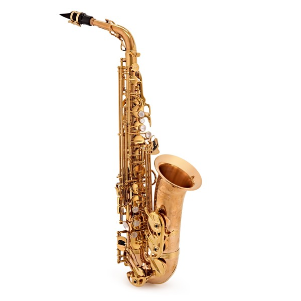 Yanagisawa AWO20U Alto Saxophone, Unlacquered Bronze