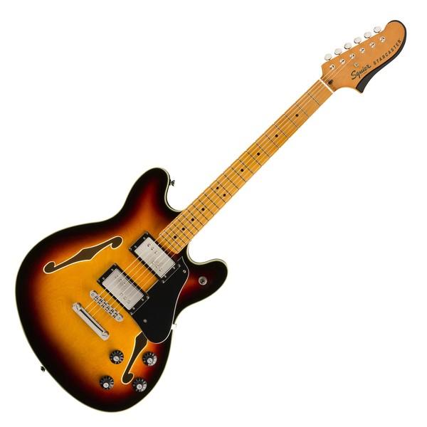Squier Classic Vibe Starcaster MN, 3-Tone Sunburst