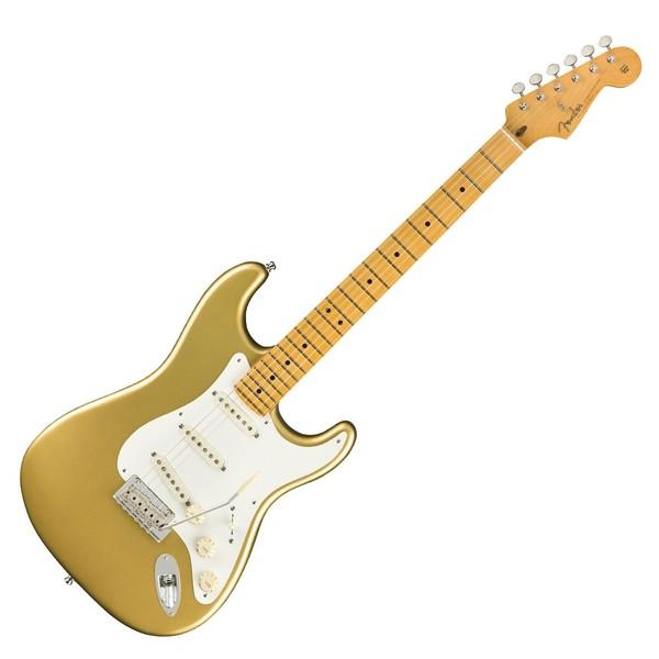 Fender Lincoln Brewster Stratocaster, Aztec Gold - Front