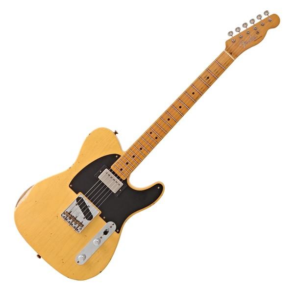 Fender Custom Shop '51 HS Relic Telecaster Ltd, Aged Nocaster Blonde