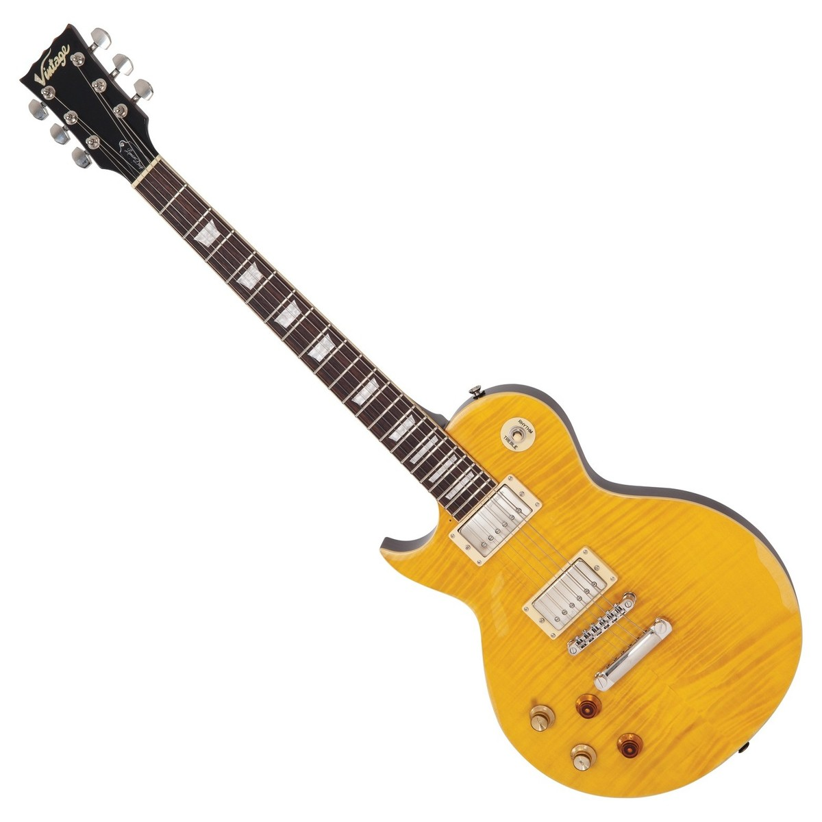 Click to view product details and reviews for Vintage V100mr Icon Left Handed Distressed Lemon Drop B Stock.