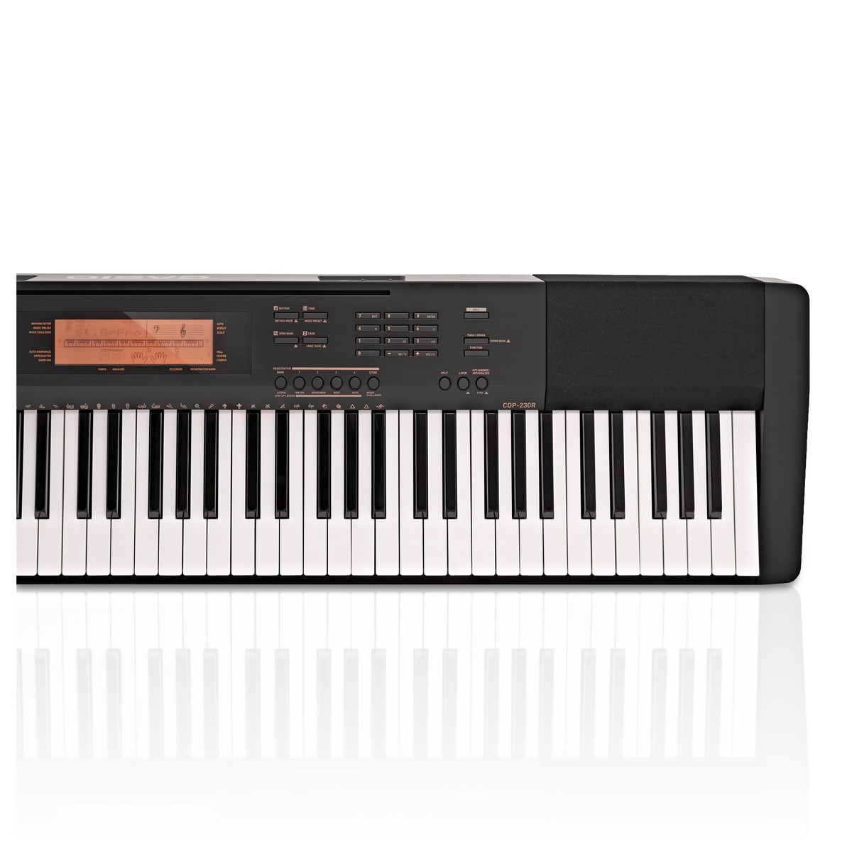 casio cdp 230r digital piano black at gear4music. Black Bedroom Furniture Sets. Home Design Ideas