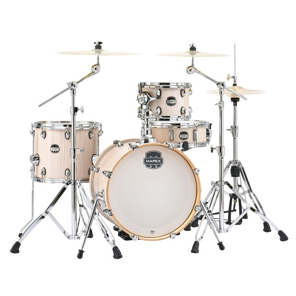 Mapex Mars 18'' 4pc Bebop Drum Kit, Bonewood