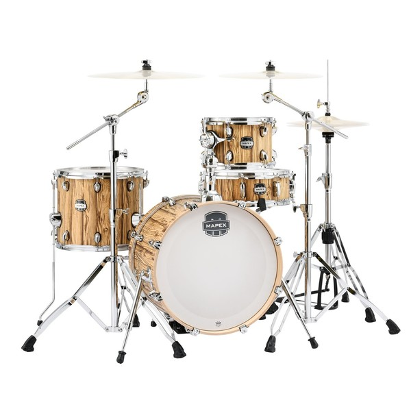 Mapex Mars 18'' 4pc Bebop Drum Kit, Driftwood