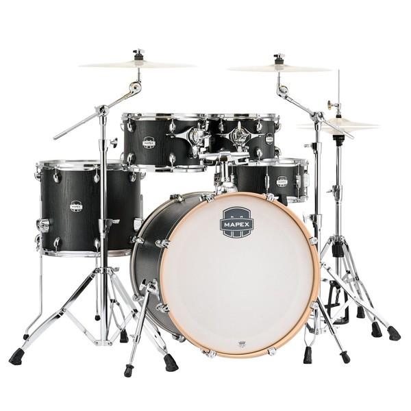 Mapex Mars 22'' 5pc Rock Fusion Drum Kit, Nightwood - main image
