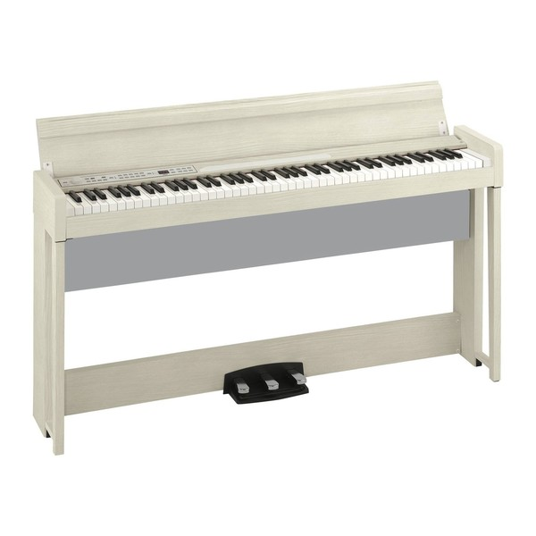 Korg C1 Air Digital Piano, White Ash