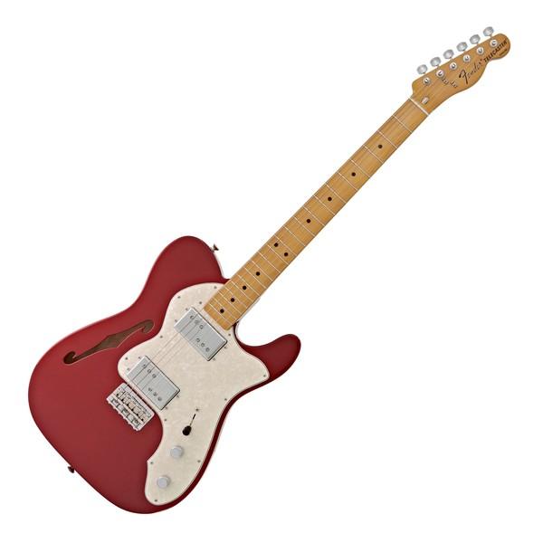 Fender Vintera 70s Telecaster Thinline, Candy Apple Red