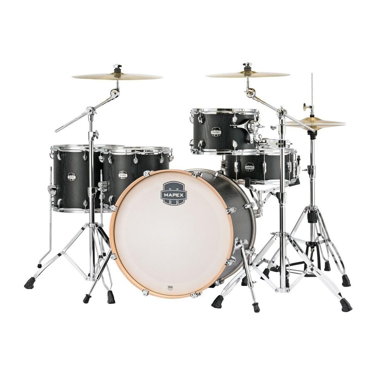 Mapex Mars 22'' 5pc Crossover Drum Kit, Nightwood