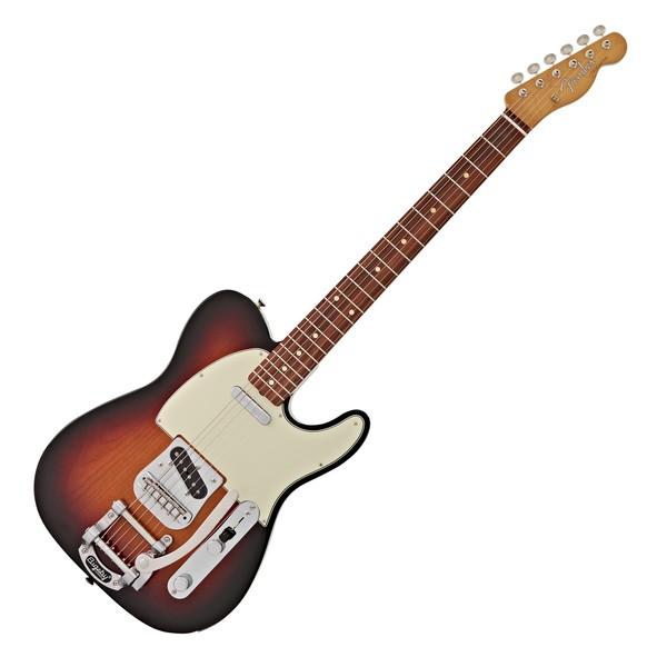 Fender Vintera 60s Telecaster w/ Bigsby PF, 3-Tone Sunburst main