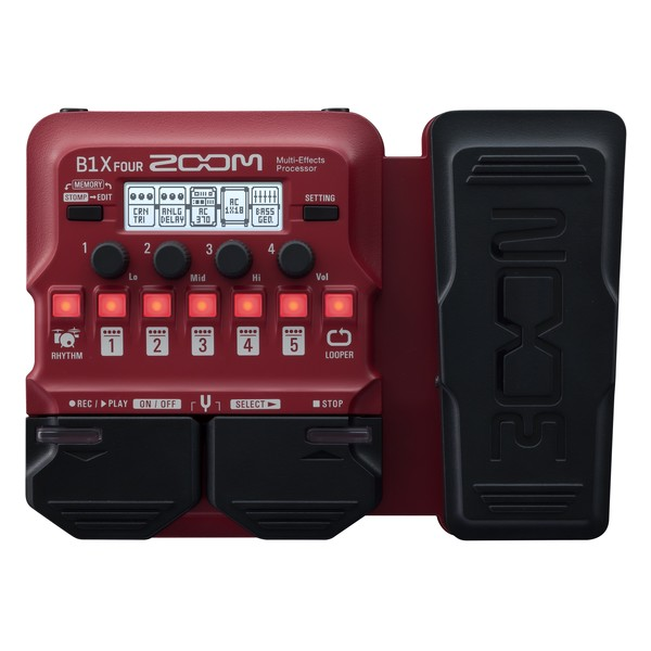 Zoom B1X FOUR Bass Multi-Effects Pedal