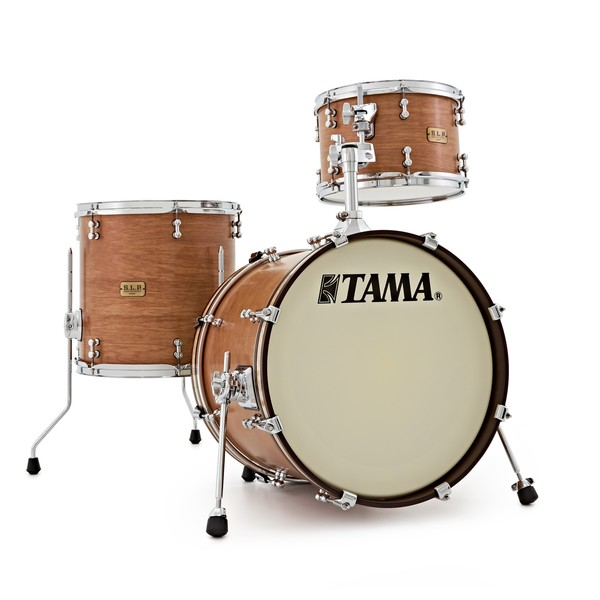 "Tama SLP Satin Vintage Hickory 3pc 18"" Shell Pack"