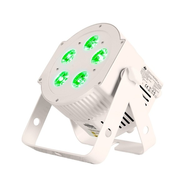ADJ 5PX HEX LED Par Can, Pearl, Front Angled