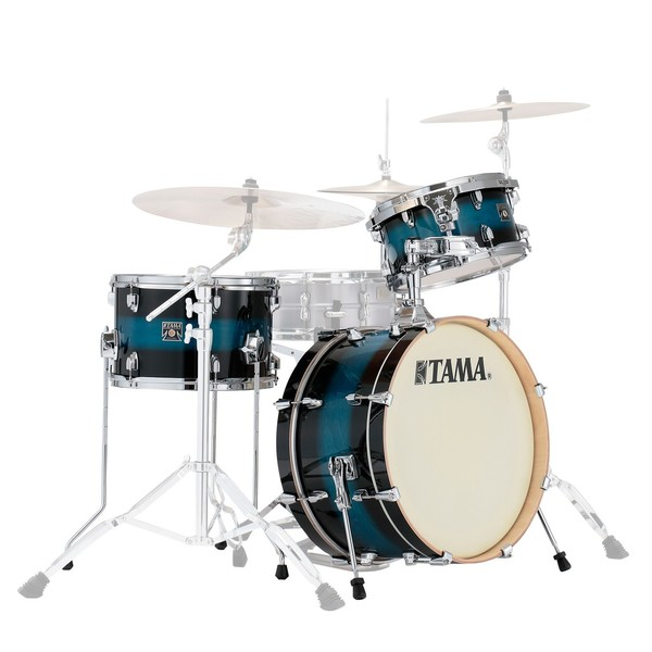Tama Superstar Classic 20'' Neo-Mod 3pc Shell Pack, Mod Blue Duco - main image