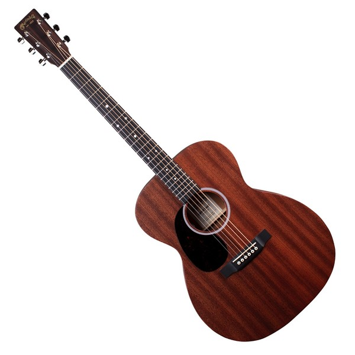 Martin 000-10E Electro Acoustic Left Handed, Sapele w/ Fishman MX-T - Front View