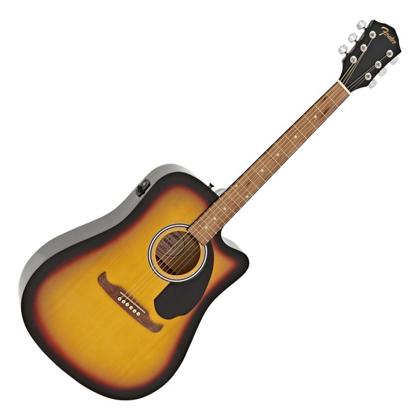 Fender FA-125CE Dreadnought Electro Acoustic, Sunburst main