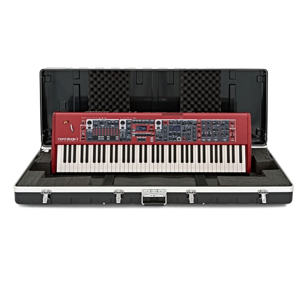 Nord Stage 3 HP76 Digital Piano With Gear4music ABS Case with case