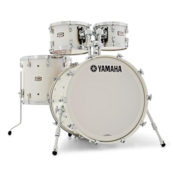 "Yamaha Absolute Maple Hybrid 22"" 4pc Shell Pack, Polar White main"