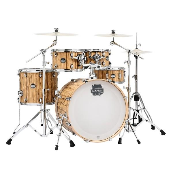 Mapex Mars 22'' 5pc Rock Fusion Drum Kit, Driftwood