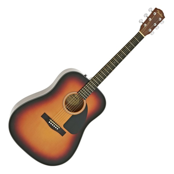 Fender CD-60-V3 Acoustic Guitar, 3-Color Sunburst main
