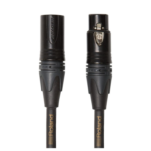 Roland RMC-GQ10 Gold Series Quad Microphone Cable, 10ft/3m