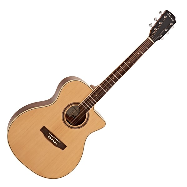 Hartwood Prime Single Cutaway Acoustic Guitar, Natural