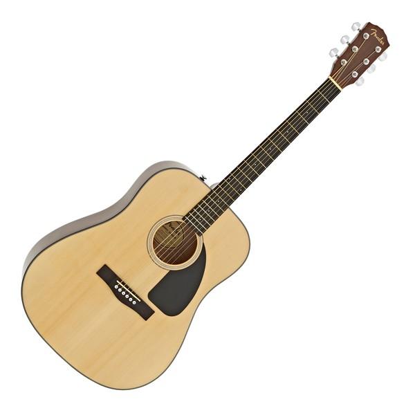 Fender CD-60-V3 Acoustic Guitar, Natural