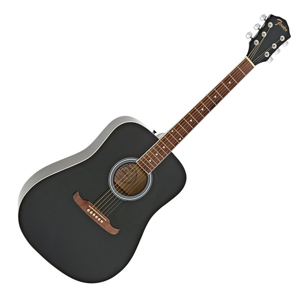 Fender FA-125 Dreadnought WN, Black main