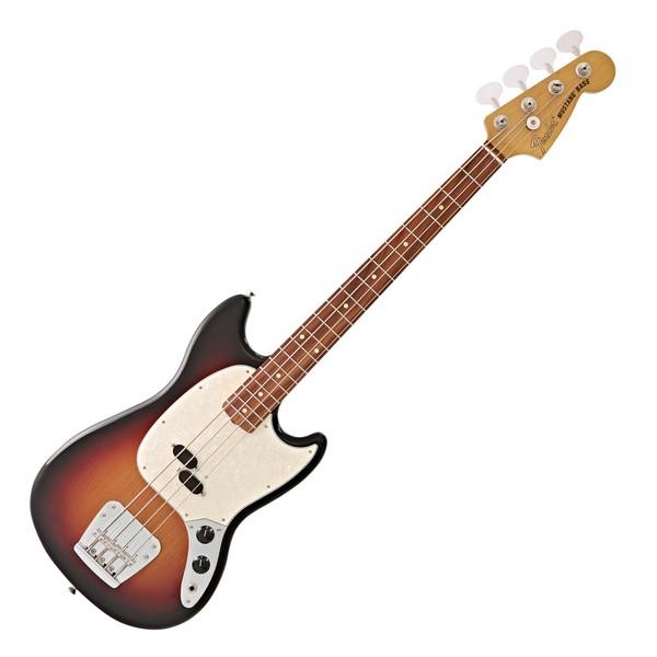 Fender Vintera 60s Mustang Bass PF, 3-Tone Sunburst main