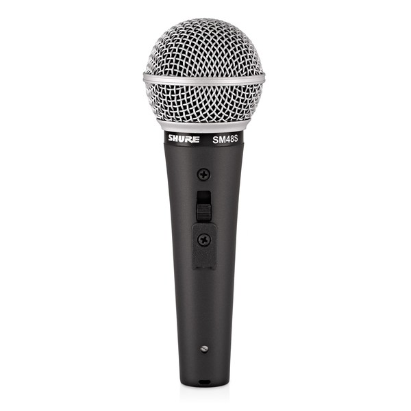 Shure SM48S Dynamic Mic with Switch - Front