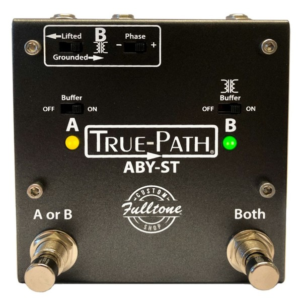 Fulltone True-Path ABY-ST V2 Switcher - Front