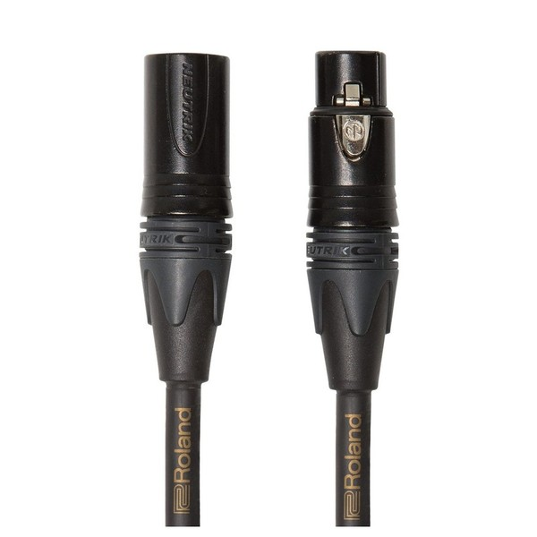Roland RMC-GQ25 Gold Series Quad Microphone Cable, 25ft/7.5m