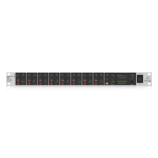 Behringer Eurorack Pro RX1602 V2 Rackmount Line Mixer, Front