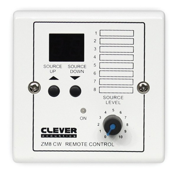 Clever Acoustics ZM 8 CW wallplate